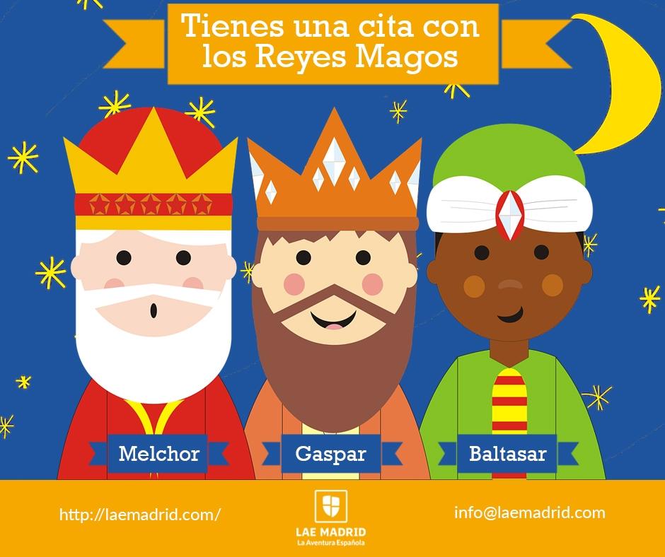 ¡Vienen los Reyes Magos!