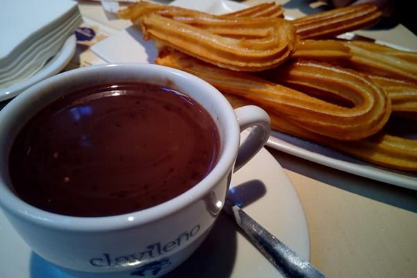 Vivir en Madrid como un local churros
