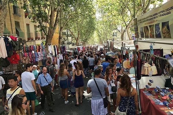 Rastro Sitios en Madrid para disfrutar de la primavera