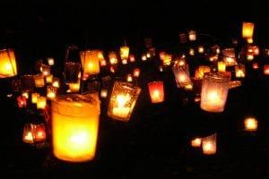 Pedraza Noche de las velas
