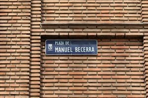 Plazas de Madrid - Plaza de Manuel Becerra