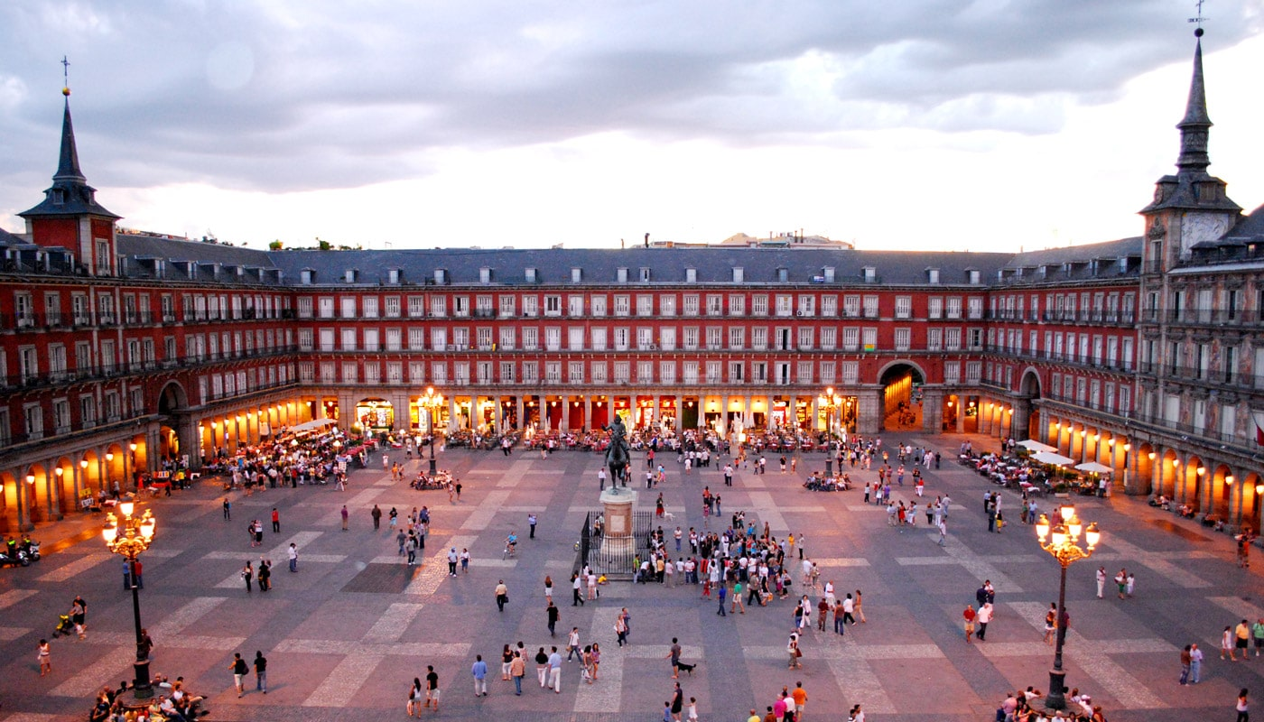 Plazas De Madrid Con Las Mejores Terrazas Lae Madrid
