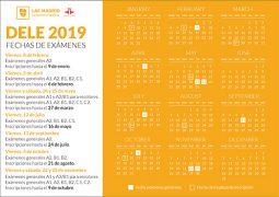 About DELE exam calendar