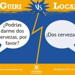 Expresiones de un local español