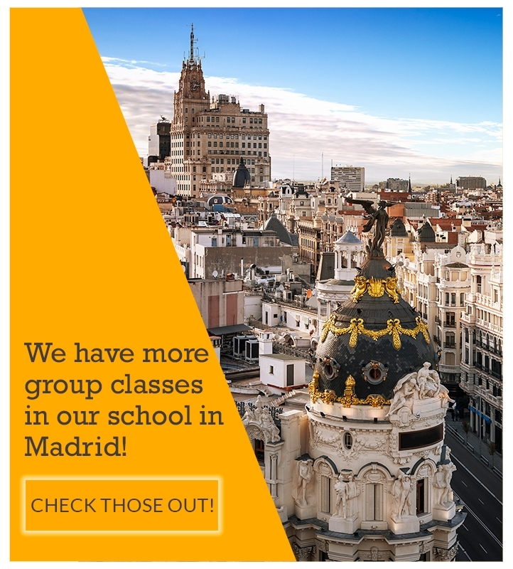 Group spanish classes in Madrid