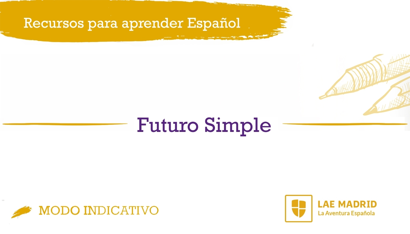 Futuro Simple en español